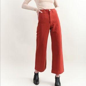 Jesse Kamm Iron Oxide Sailor Pants Size 2